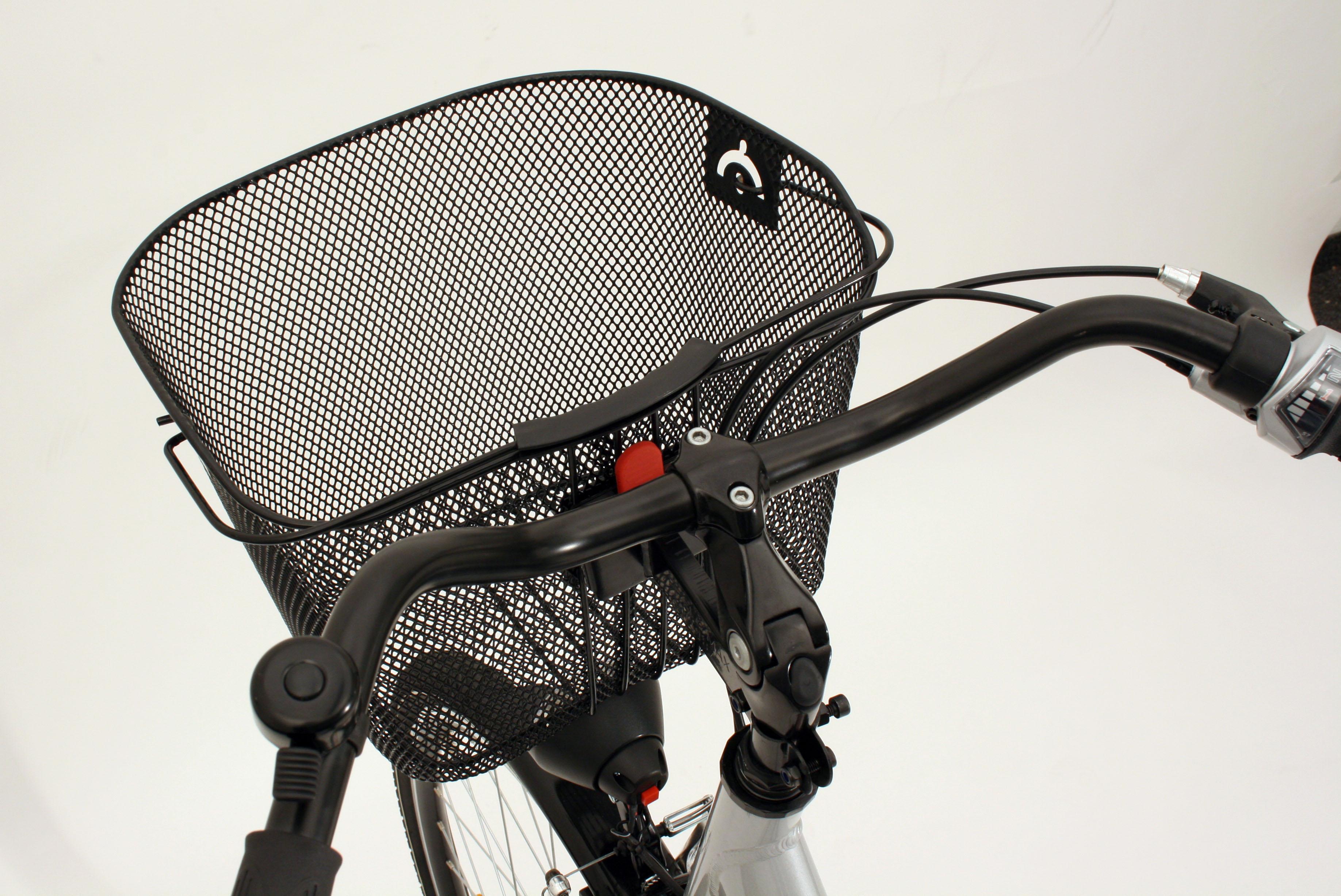 Prophete Fahrradkorb City schwarz Rad-Ausrüstung Radsport Sportarten