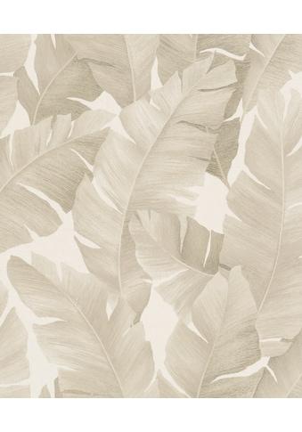 Marburg Vliestapete »beige«, floral, restlos abziehbar kaufen