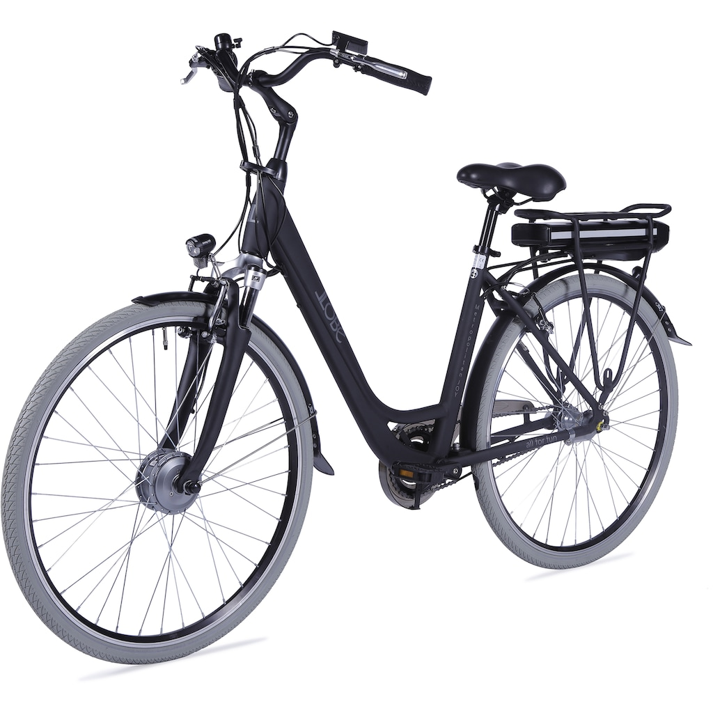 LLobe E-Bike »Metropolitan JOY schwarz 13 Ah«
