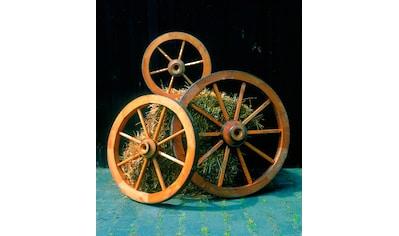 promadino Gartenfigur »Wagenrad«, BxLxH: 90x22x90 cm kaufen