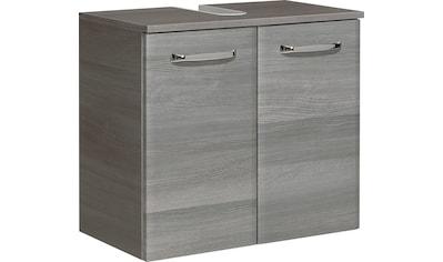 PELIPAL Waschbeckenunterschrank »Alika«, Breite 60 cm, Metallgriff, Türdämpfer,... kaufen