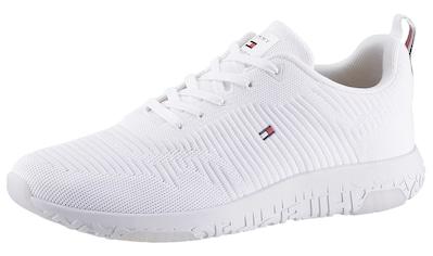 TOMMY HILFIGER Sneaker »CORPORATE KNIT RIB RUNNER« kaufen