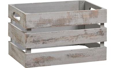 Zeller Present Holzkiste »Vintage« (1 Stück) kaufen