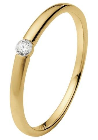 """Firetti Diamantring »Verlobungsring """"Solitär""""«, mit Brillant in Spannfassung kaufen"""