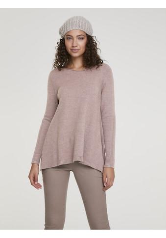 Longpullover mit seiltichen Schlitzen kaufen
