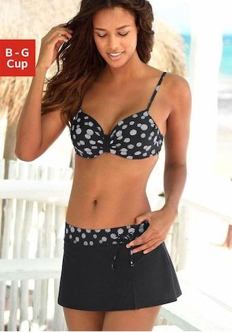 LASCANA Bügel-Bikini, mit einer schlichten Schlaufe zwischen den Cups kaufen