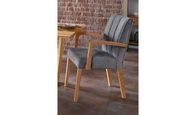 Armlehnstuhl »Nora Premium 2«, (2 Stück), Gestell aus Massivholz kaufen