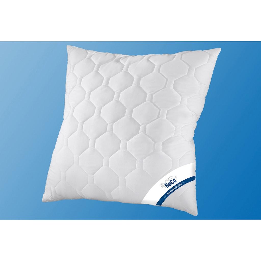 Beco Kunstfaserbettdecke + Kopfkissen »Antibac«, (Spar-Set), mit antbacterieller Veredelung im Bezug