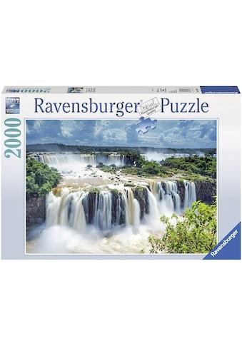 """Ravensburger Puzzle """"Wasserfälle von Iguazu Brasilien"""" kaufen"""