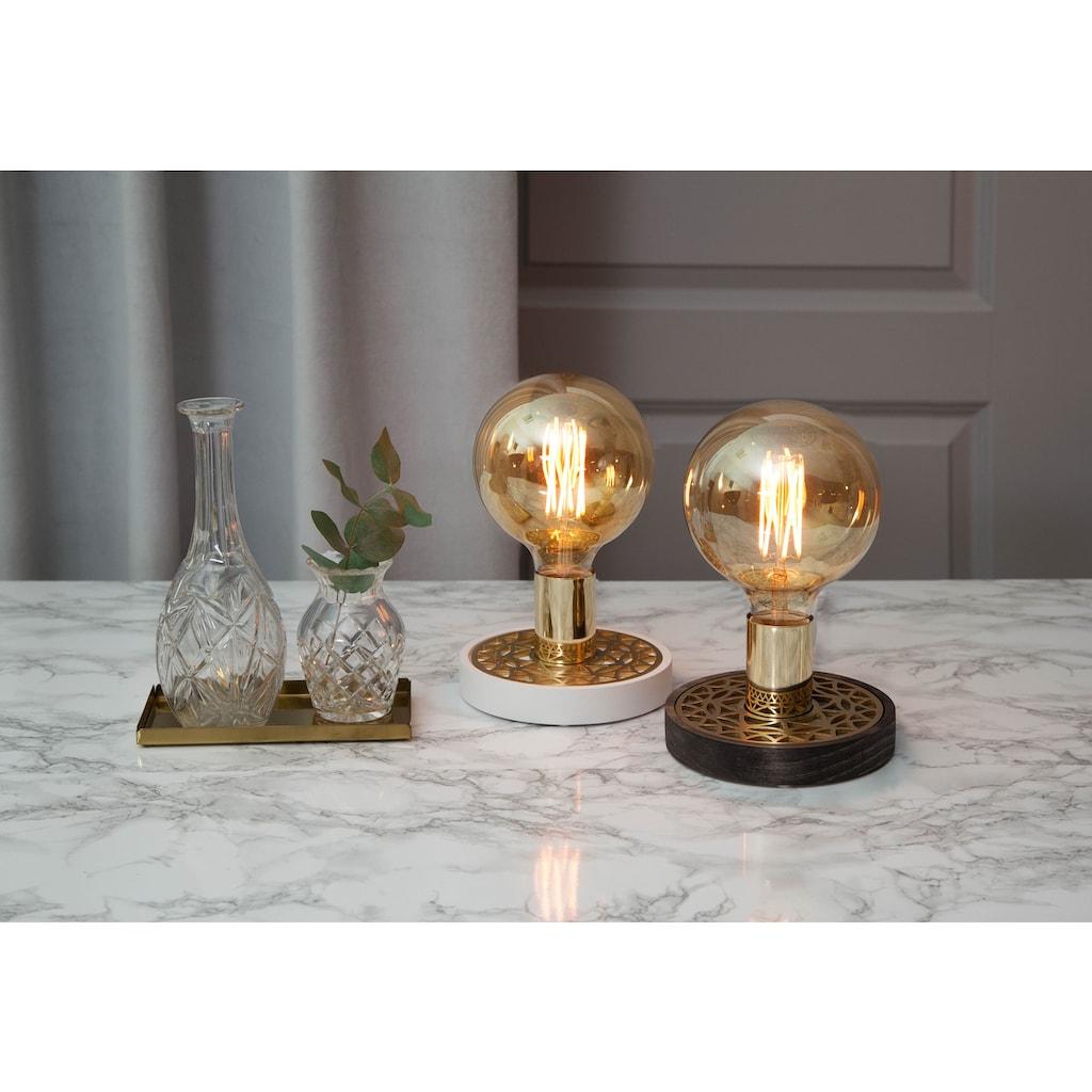 Home affaire LED-Filament »Vintage Gold«, E27, dimmbar, Maße: 7,8x17,5 cm