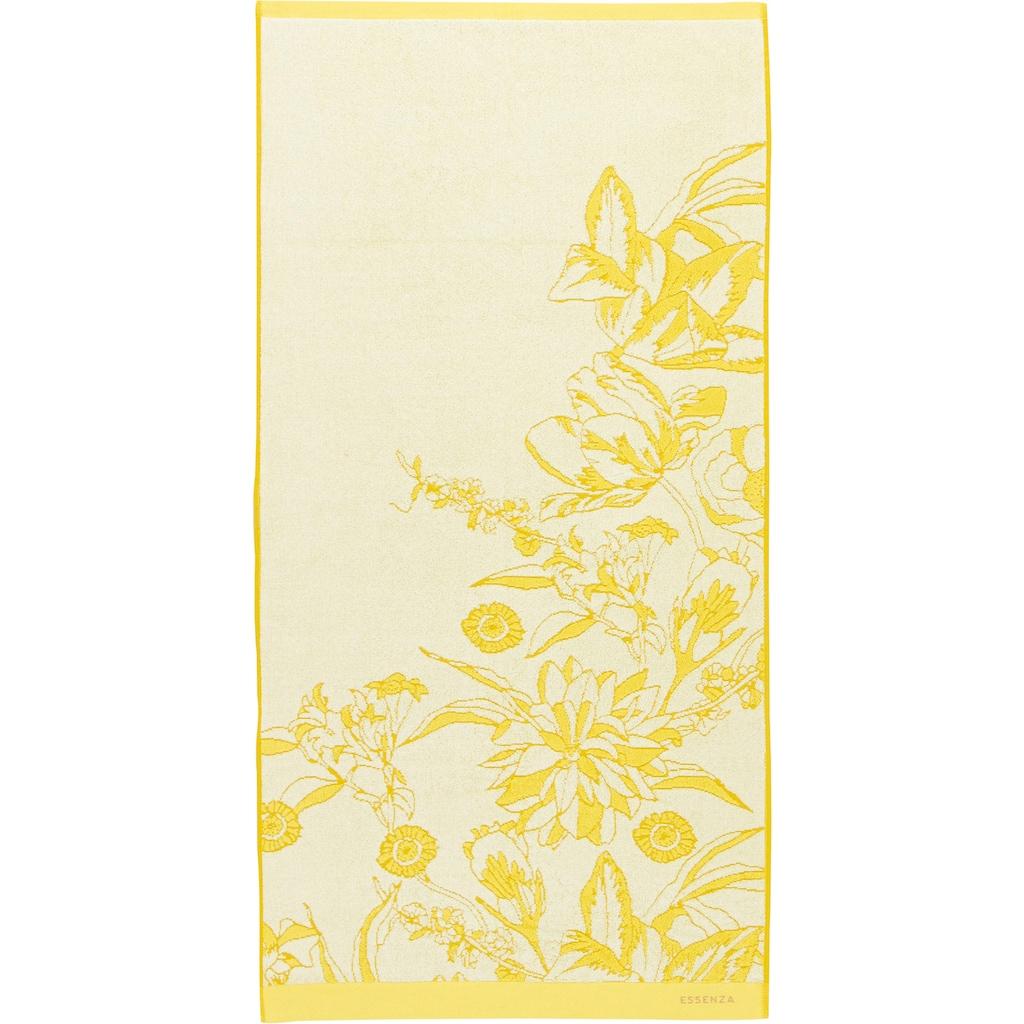 Essenza Duschtuch »Malou«, (1 St.), mit floralem Muster