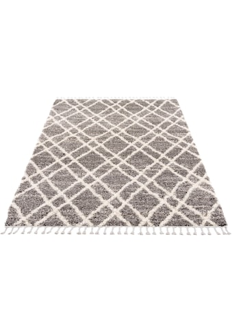 Hochflor - Teppich, »Pulpy 540«, Carpet City, rechteckig, Höhe 30 mm, maschinell gewebt kaufen