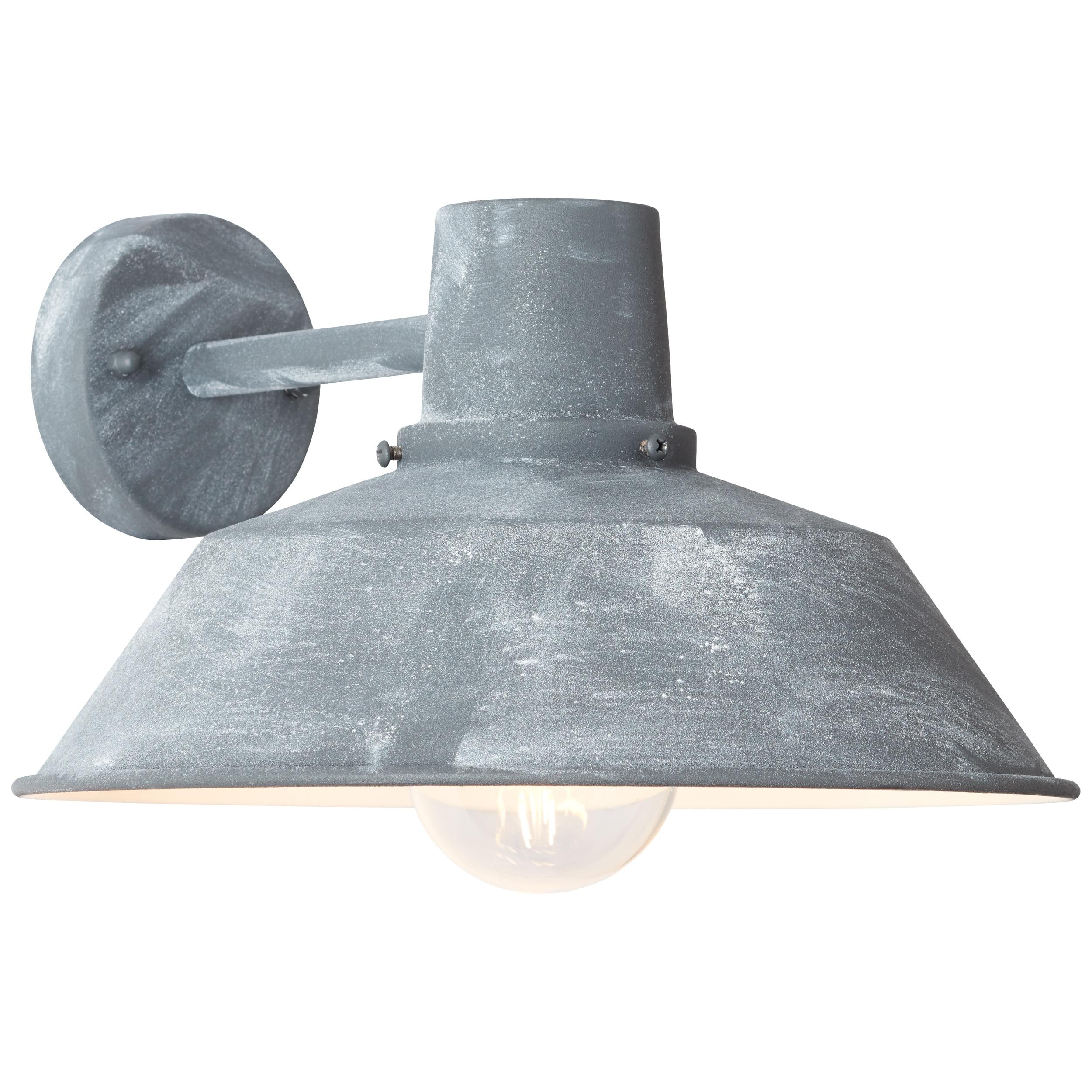 Brilliant Leuchten Humphrey Außenwandleuchte hängend grau Beton