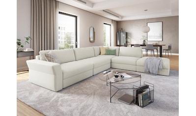 sit&more Ecksofa »Cadabra«, Breite 356 cm, mit Sitztiefenverstellung kaufen