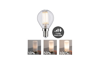 Paulmann LED-Leuchtmittel »LED Tropfen 5W E14 2.700K touch dimmer«, 1 St., Warmweiß kaufen