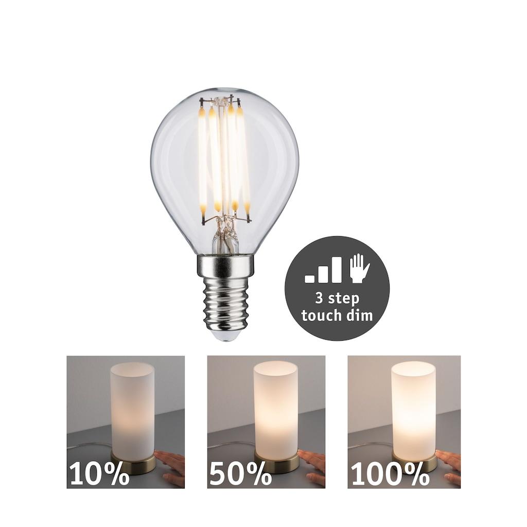Paulmann LED-Leuchtmittel »LED Tropfen 5W E14 2.700K touch dimmer«, 1 St., Warmweiß