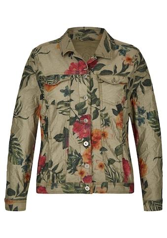 VIA APPIA DUE Stylische Jacke mit Blumen - Muster kaufen