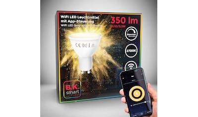 B.K.Licht LED-Leuchtmittel, GU10, 1 St., Warmweiß, Smart Home LED-Lampe RGB WiFi... kaufen