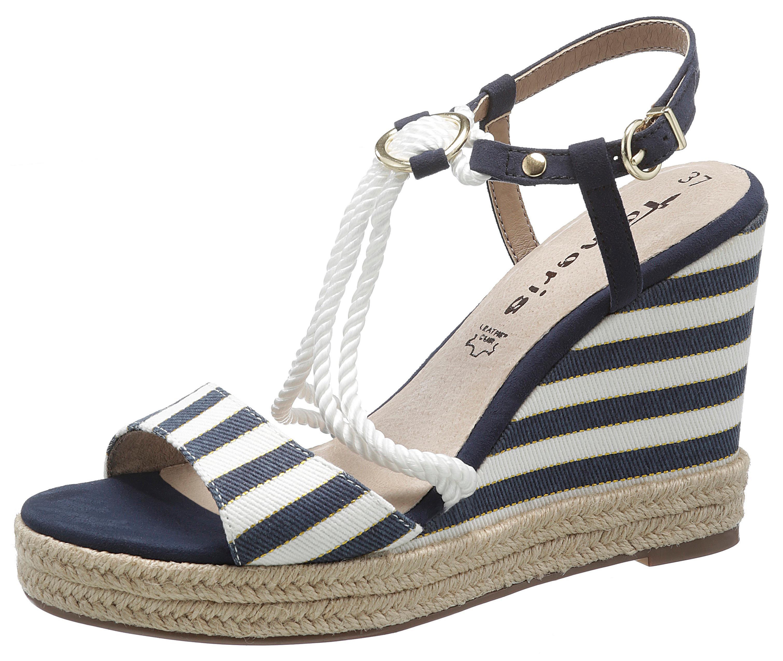 tamaris -  Sandalette Cynara, im maritimen Look