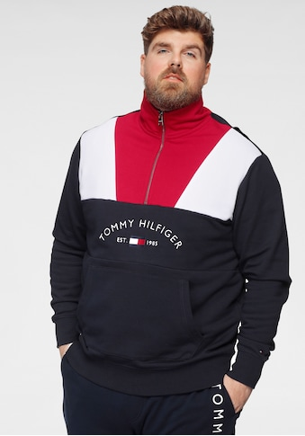 Tommy Hilfiger Big & Tall Sweatshirt »BT-COLOR BLOCK MOCK NECK« kaufen