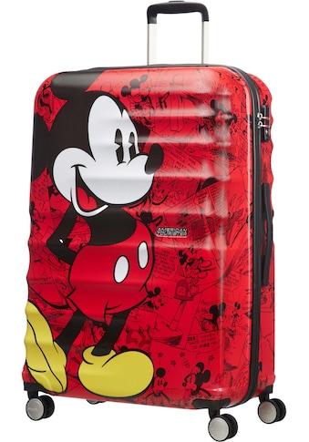 American Tourister® Hartschalen-Trolley »Wavebreaker Disney, 77 cm«, 4 Rollen, mit 4 Rollen kaufen