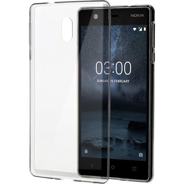 Nokia Handytasche »3 - Slim Crystal Cover«