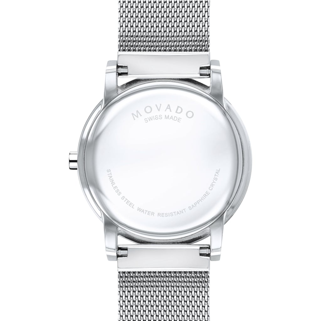 MOVADO Schweizer Uhr »MUSEUM CLASSIC, 607349«