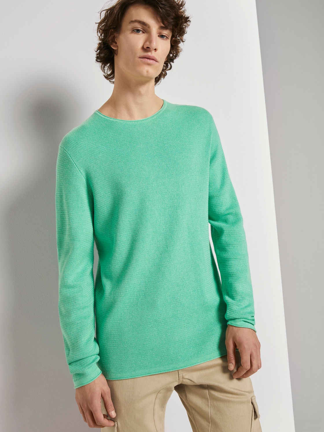 tom tailor denim -  Strickpullover Strukturierter Pullover