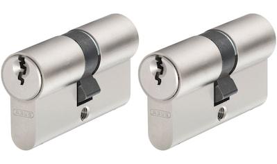 ABUS Set: Profilzylinder »E20NP«, Tür - Doppelzylinder mit Profilschlüssel, 2er - Set kaufen