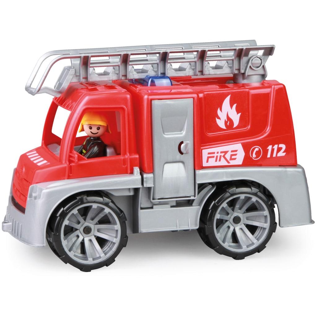 Lena® Spielzeug-Feuerwehr »Truxx, Feuerwehr mit Leiter«, Made in Europe
