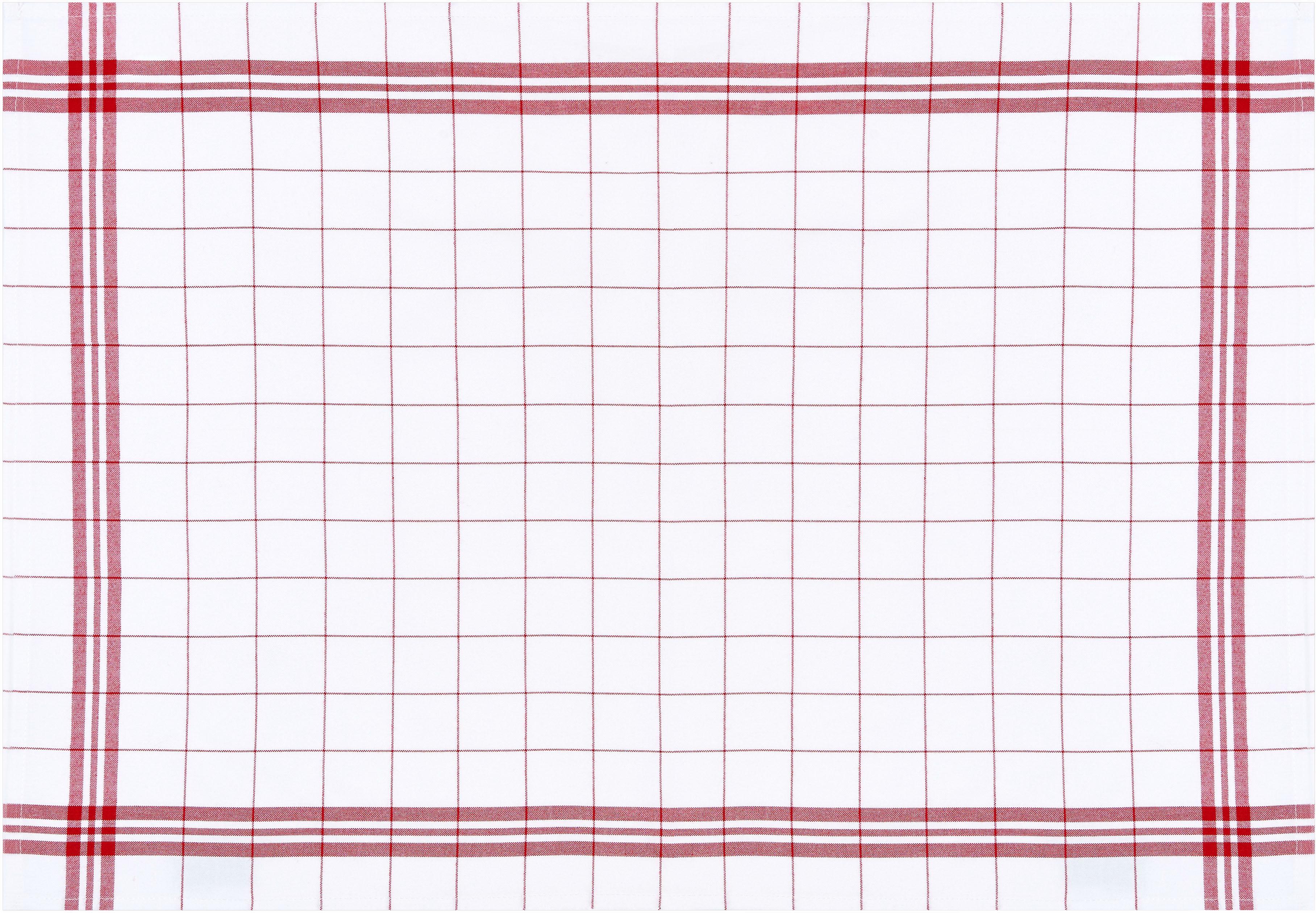 stuco Geschirrtuch Bambus, kariert, (Set, 3 tlg.) weiß Geschirrtücher Küchenhelfer Haushaltswaren