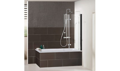 Dusbad Badewannenfaltwand »Vital 1«, Black Edition, Anschlag links, 120 cm kaufen