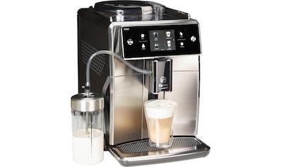 Saeco Kaffeevollautomat SM7683/10 Xelsis, 15 Kaffeespezialitäten, edelstahl/schwarz, 1,7l Tank, Scheibenmahlwerk kaufen