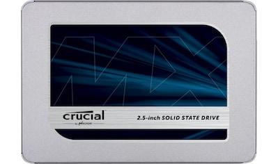 "Crucial »Crucial MX500 1TB 3D NAND SATA 2.5"" 7mm (mit 9.5mm Adapter)« SSD - Festplatte 2,5 '' kaufen"