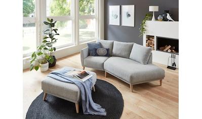 ATLANTIC home collection 2,5-Sitzer »Elvis«, Polsterecke mit offenem Ende im skandinavischen Stil kaufen