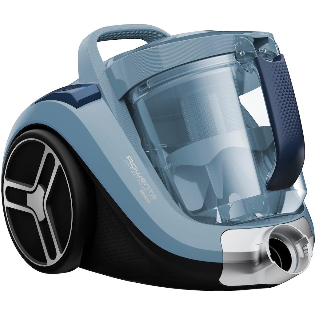 Rowenta Bodenstaubsauger »RO4871 Compact Power XXL;«, 550 W, beutellos, 2,5 L; Extreme Saugleistung; Mini-Turbobürste für Tierhaare