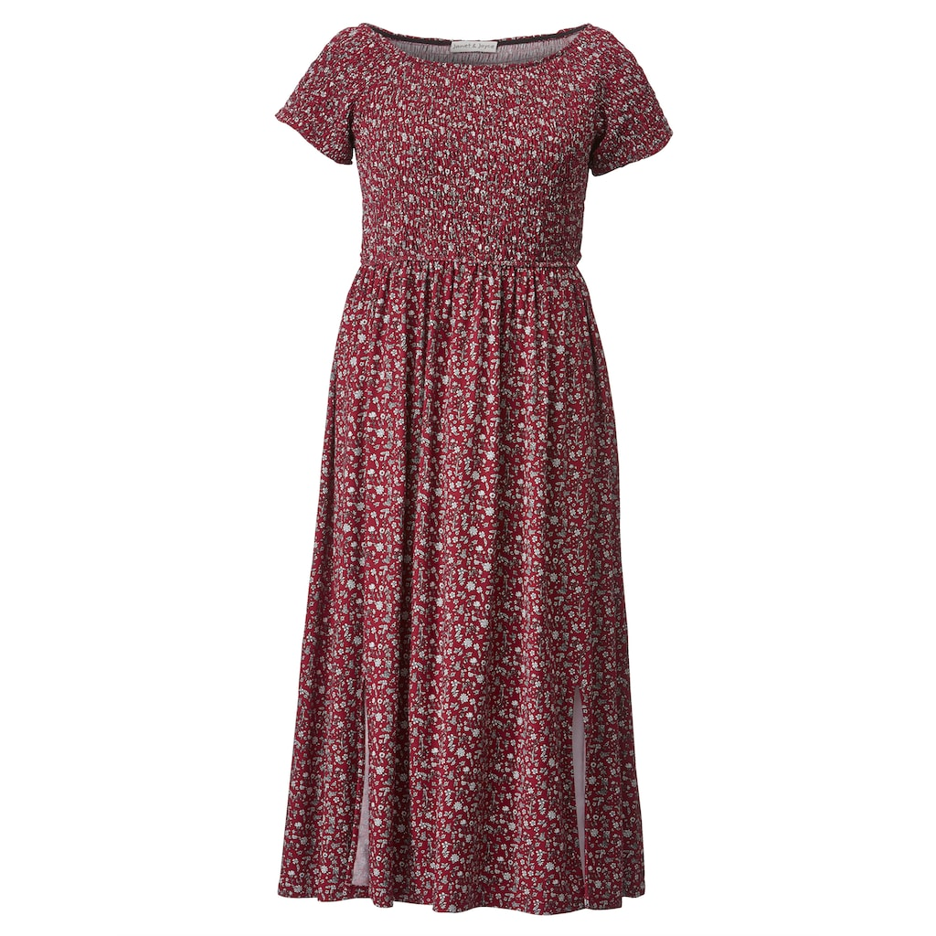 Janet & Joyce by HAPPYsize Kleid mit floralem Druck