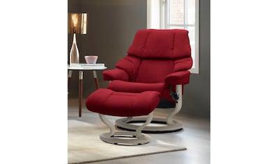Stressless® Relaxsessel »Reno«, mit Classic Base, Größe S, M & L, Gestell Whitewash kaufen