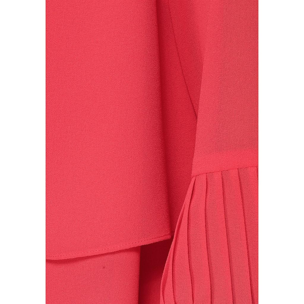 select! By Hermann Lange Kurzjacke, aus Chiffon, perfekt über ärmelosen Kleidern
