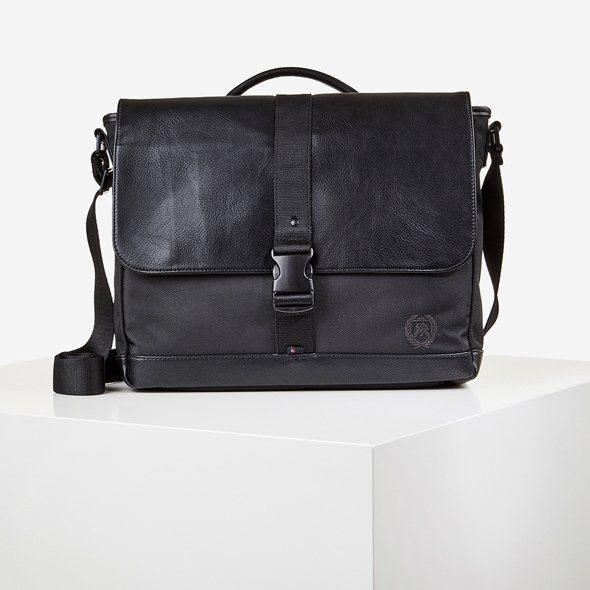 LERROS Messenger Bag   Taschen > Business Taschen > Messenger Bags   Schwarz   Lerros