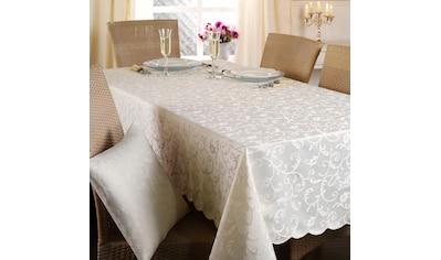 Delindo Lifestyle Tischdecke »Monique«, Jacquard-Gewebe, 210 g/m² kaufen