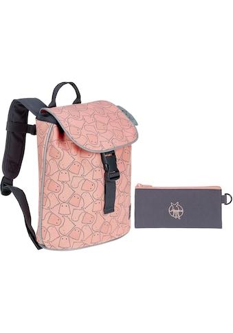 Lässig Kinderrucksack »4Kids Spooky Peach, Mini Duffle Backpack«, Reflektoren kaufen