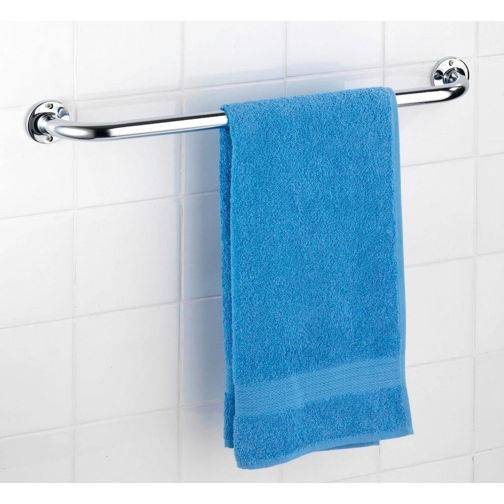 WENKO Handtuchhalter »Basic«, aus hochwertigem Edelstahl