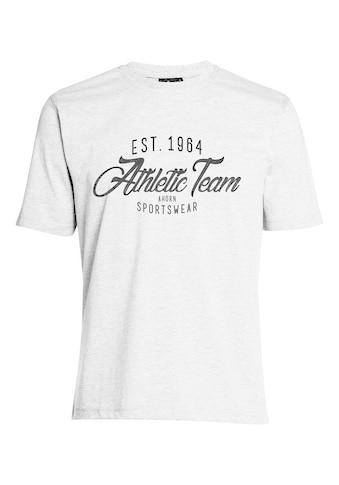 AHORN SPORTSWEAR T - Shirt mit sportivem Front - Print kaufen