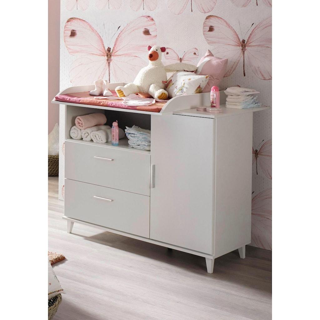 rauch BLUE Babymöbel-Set »Nizza«, (Spar-Set, 2 St.), Bett + Wickelkommode