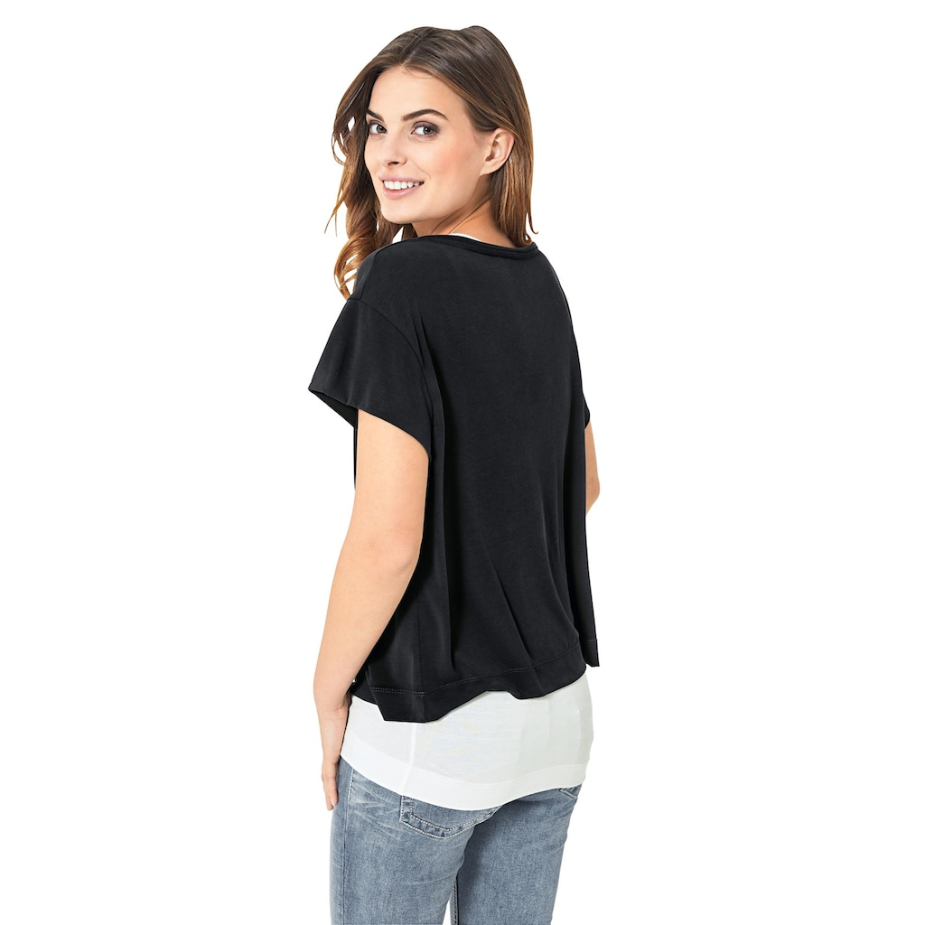 Shirt Two-in-one-Look