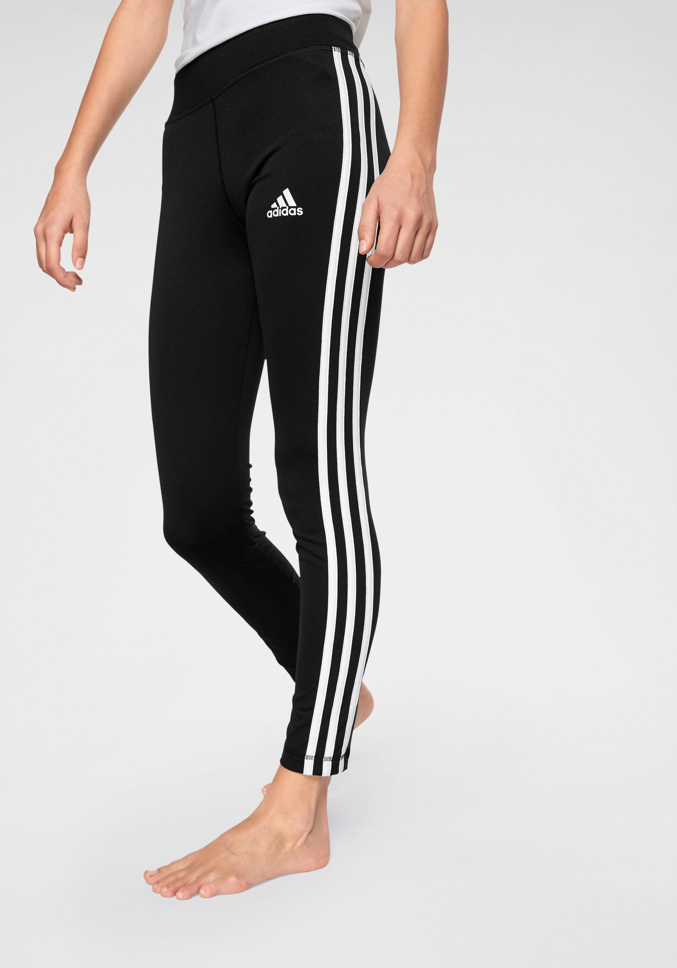 adidas Performance Funktionstights »YOUNG GIRL TRAINING EQUIPMENT 3 STRIPES LONG TIGHT« kaufen | BAUR