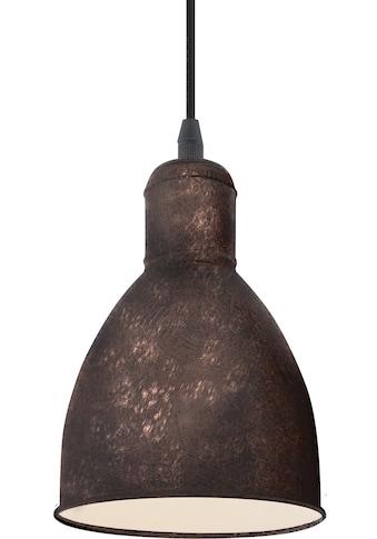 EGLO Pendelleuchte »PRIDDY 1«, E27, kupferfarben-antik / Ø15,5 x H110 cm / exkl. 1 x... kaufen