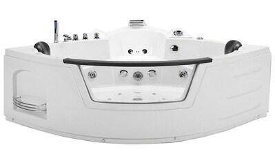 HOME DELUXE Whirlpool-Badewanne »White L Kompakt«, doppelwandig kaufen