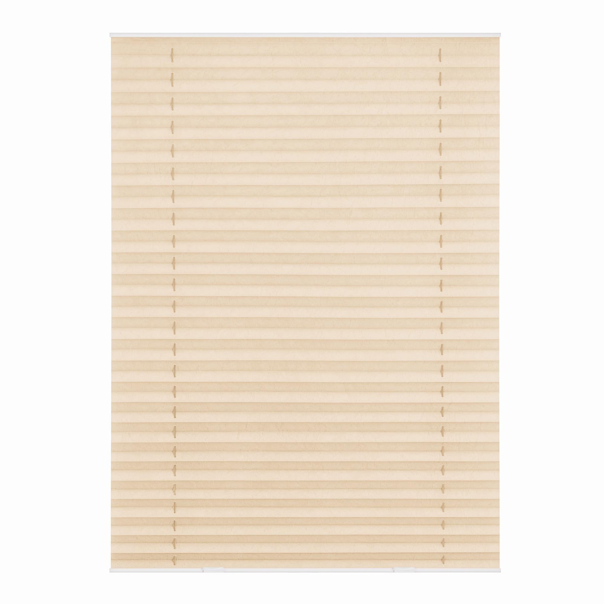 Dachfensterplissee Haftfix LICHTBLICK Lichtschutz ohne Bohren verspannt Wohnen/Wohntextilien/Rollos & Jalousien/Plissees/Dachfensterplissees